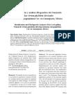 Identificación y Análisis Filogenético del Nematodo Foliar Orrina phyllobia Afectando