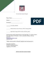 2010 Summer Registration