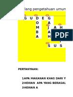 Teka Teki Karya Callysta Edgina Nm 4d