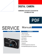 Manual de serviço câmera Samsung St76 St77