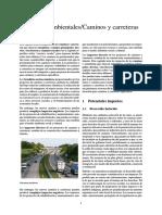 Impactos Ambientales-Caminos y Carreteras