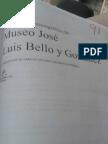 Proyecto de adecuación museográfica del Museo José Luis Bello y González