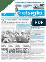 Edición Impresa El Siglo 07-06-2016