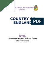 Monograph of England