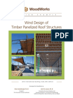 Wind Design of Timber Panelised Roof Structures de-Panelized-Roof-Wind