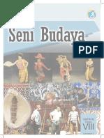 Buku Siswa Kelas 8 SMP Seni Budaya 2014 Semester 2