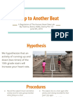 regulation of human heart rate lab