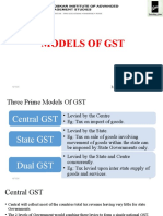 Models of Gst