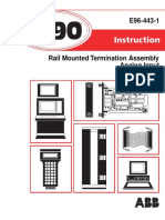 I-E96-443-1 NRAI0_ Rail Mounted Termination Assembly Analog Input
