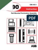 I-E96-443-1 NRAI0_ Rail Mounted Termination Assembly Analog Input