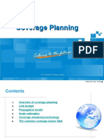GSM Network Planning ABC - Coverage Planning V1.0