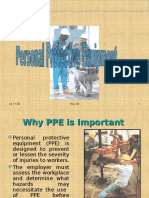 PPE and its use