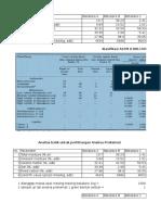 contoh perhitungan Klasifikasi ASTM