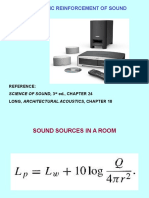 9 ELECTRONIC REINFORCEMENT OF SOUND.ppt