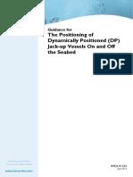 Guidance for DP on JackUps