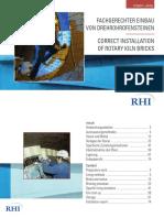 RHI Brochure - Installation