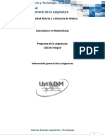 Información General de La Asignatura