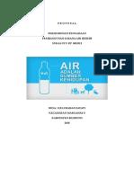 Proposal pengadaan air bersih