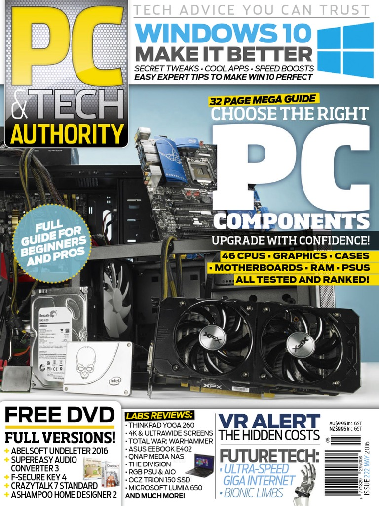 PC  Amp  Tech Authority - May 2016   Virtual Reality   Graphics Processing  Unit f0ca405fa187