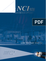 NCI - LV Cables Catalogue