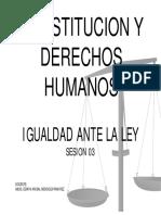 Sesion III - Constitucion y Derechos Humanos