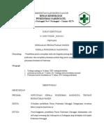 SK 7.1 Pendaftaran Pasien