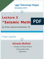 Seismic Method