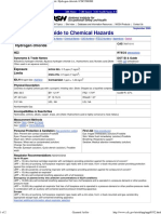 MSDS HCl