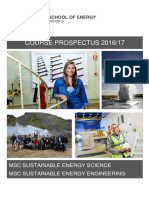 Iceland School of Energy Course Prospectus Draft Fall 2016 Spring 2017