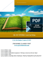 CJA 214 TUTORIAL Learn by Doing/cja214tutorial.com