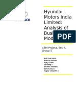 Hyundai Report v 1.0
