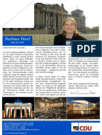 Berliner Brief Juni 2016