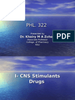 CNS Stimulants Drugs