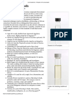 List of Essential Oils -