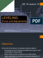 Lecture 13--Techniques for Vertical Distance Measurements