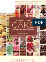 A World of Cake — Book layout and design (samples pages)