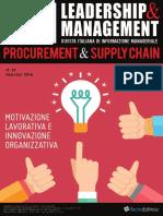 Leadership & Management n.37 Marzo Aprile 2016