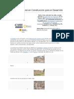 La Piedra Natural en Construcción Para El Desarrollo