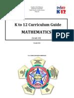 Grade 10 Mathematics Curriculum Guide