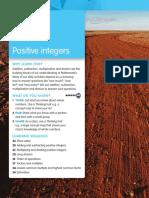 maths - positive integers chapter 2