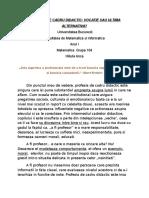 Proiect Individual_Profesia de Cadru Didactic