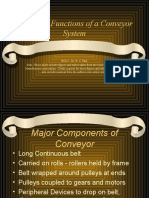 Parts and Functions of a Conveyor System