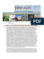 Jernigan on the Cotton Market Daily - June 26th