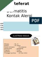 referat dermatitis kontak alergi