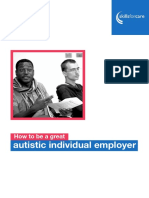 How to Be a Great Autistic Individual Employer