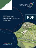 SHP2016 - Environmental Statement Volume 1