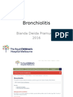 Bronchiolitis RCH