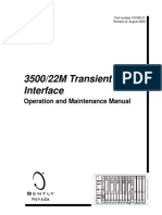 3500 22m Transient Data Interface Manual 161580-01