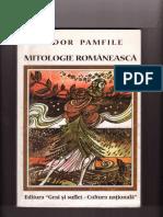 tudor pamfile mitologie romaneasca