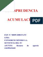 Expo Jurisprudencia Acumulación y Litispendencia